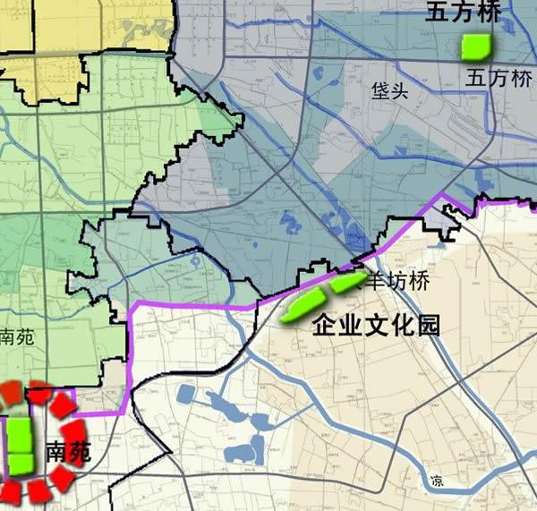 市规划局公示《北京市地震应急避难场所规划》,规划图中显示亦庄企业图片